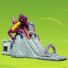 inflated Water slide,water slide fun