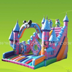 inflatable slides and bouncer,party slide