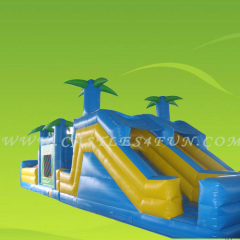 inflatable obstacle course,amusement park for kids