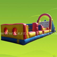 obstacle course bouncers,amusement park