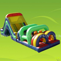 obstacle course bounce house,amusement parks for kid