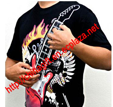 Electronic Rock Guitar T-shirt