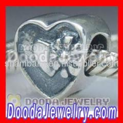 Sterling Silver european LOVE Chrams Beads