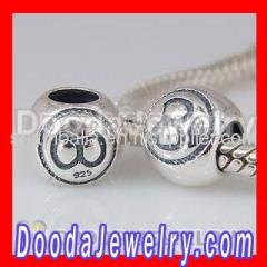European Silver Snooker Charms Beads