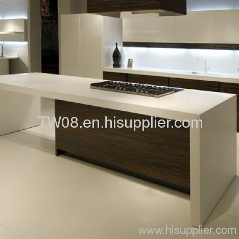 Acrylic Solid Surface Kitchen Island Top