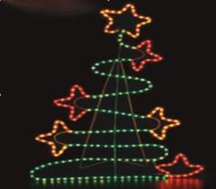 Led rope light two santa play parachute b740 manufacturer from led rope light christmas tree aloadofball Choice Image
