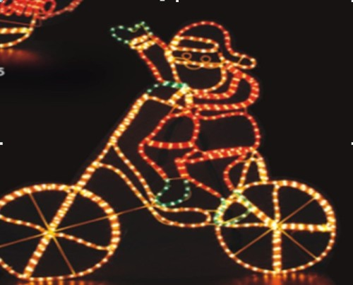 Led rope lightsanta claus play bicycle b722 manufacturer from led rope lightsanta claus play bicycle aloadofball Choice Image