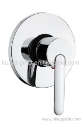 Built in shower faucet