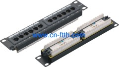 10 pollici 12 Port Patch Panel