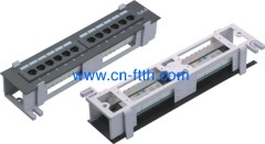 Patch panel with frame