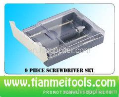 9 piece promotional tool kit