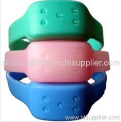 silicone anti-mosquito bracelets