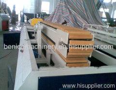 PVC door and window profile plastic machinery
