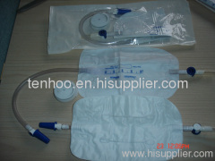 Three-Chamber Urine Leg Bags