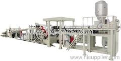 PE single and multi layer sheet extrusion line