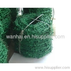 pvc coated barbed wire IOWA type