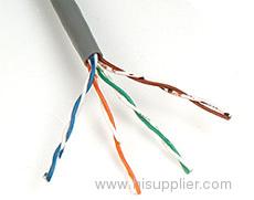 UTP cat 5E 4 pairs cable
