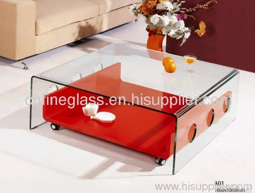 furniture glass table from Yantai