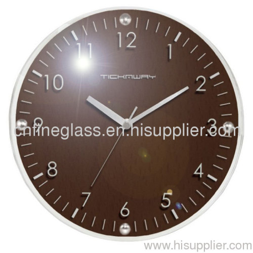 clock glass