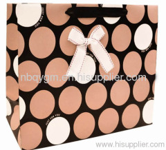 Horizontal Circle design paper gift bags