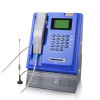indoor GSM coin payphone, wireless/cordless, desktop/kiosk/wall-mounted also support smart-card