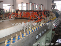 PVC wood plastic door board extrusion line