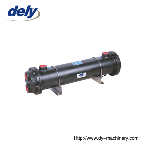 Industrial Hydraulic Oil Cooler : Oil water cooler from china manufacturer ningbo dely