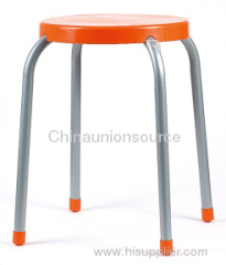 Stool With Plastic Seat