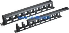 Patch Cable Management com cobertura metálica