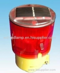 LED solar warning light