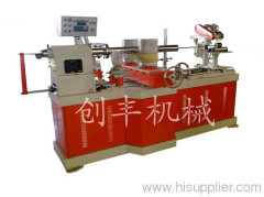 spiral winding paper tube machine