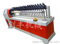 toilet paper core cutting machine