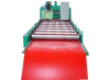 Iron colored automatic leveling machine