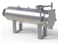 Horizontal Stainless Steel High Flow Cartridge Housings