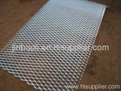 square hole middle expanded metal mesh