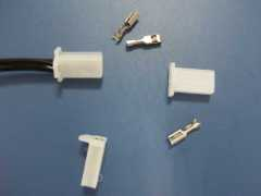 connector wire with teminals and Plastic housing