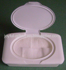 Color plastic wet wipes box