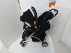 TRAVEL SYSTEM (STROLLER+BABY CAR SEAT)