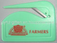promotional plastic letter opener
