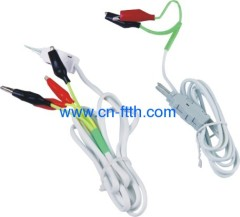 2/4 pole Test cord with clamp