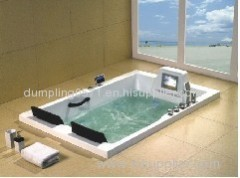 Indoor bathtub