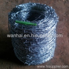 barbed steel wire