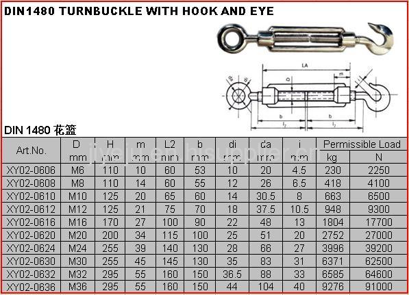 Stainless Steel Eye And Eye Turnbuckle From China