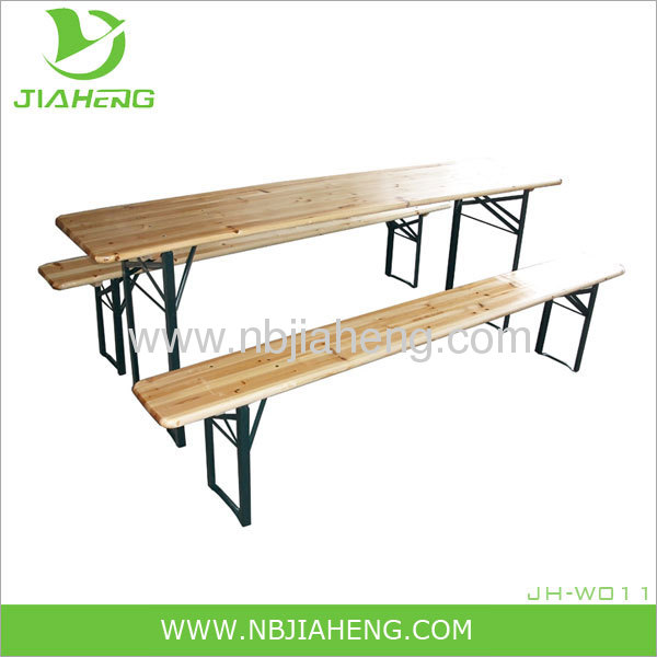 beer garden tables and bench from China manufacturer Ningbo