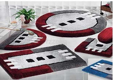 Modern Design Acrylic Tufted Bathroom Set Mat From China Manufacturer Rizhao Zelin Holding Co Ltd
