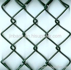 PVC Coated Chain Link Fence plastic coated chain link fence
