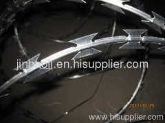 stainless razor barbed wire mesh