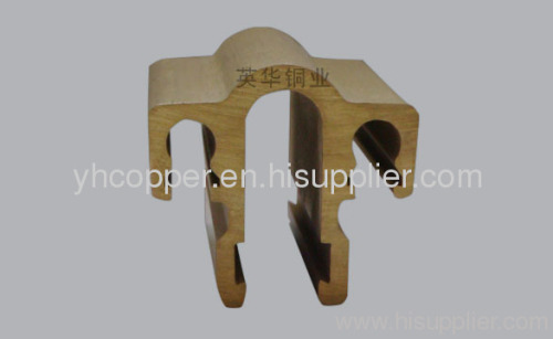 Copper Extruded Shapes : Copper extrusion profile hardware from china manufacturer