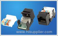RJ45 CAT5e tooless modules
