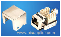 RJ45 Cat5e shield modules